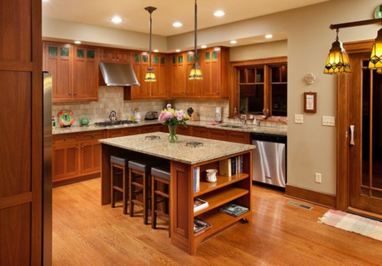Totally Outstanding Traditional Kitchen Decoration Ideas 34