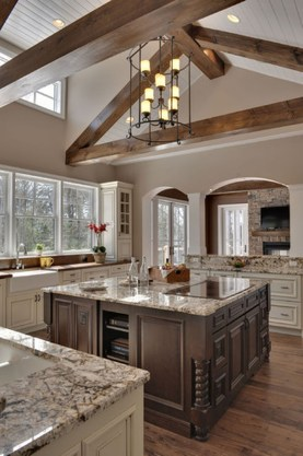 Totally Outstanding Traditional Kitchen Decoration Ideas 52