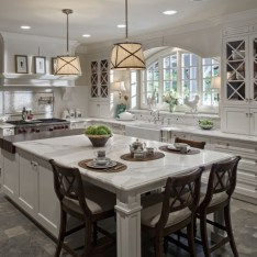 Totally Outstanding Traditional Kitchen Decoration Ideas 62