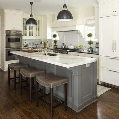 Totally Outstanding Traditional Kitchen Decoration Ideas 67
