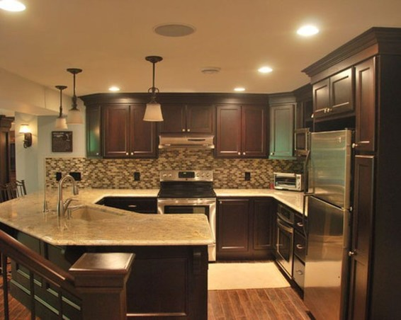 Totally Outstanding Traditional Kitchen Decoration Ideas 93