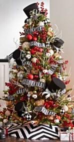 Unique And Unusual Black Christmas Tree Decoration Ideas 36