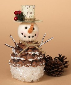 36 Brilliant Ideas How To Use Pinecone For Indoor Christmas Decoration 21