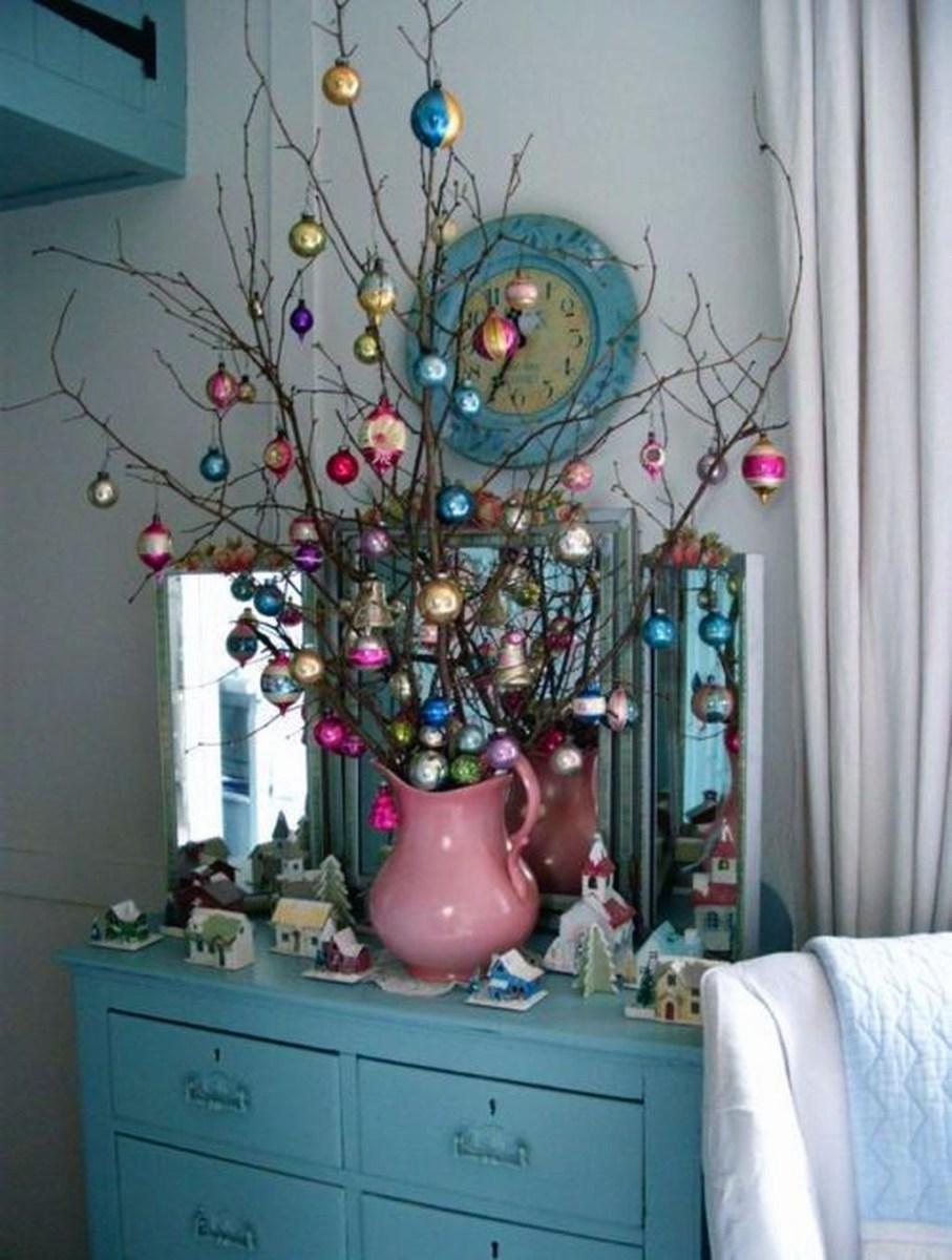 37 Totally Beautiful Vintage Christmas Tree Decoration Ideas 07