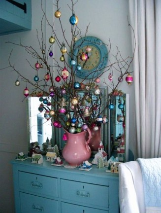 37 Totally Beautiful Vintage Christmas Tree Decoration Ideas 07