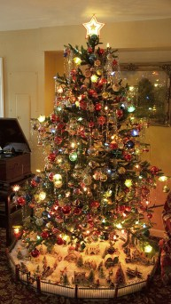 37 Totally Beautiful Vintage Christmas Tree Decoration Ideas 11