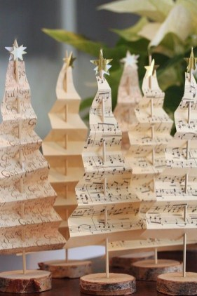 37 Totally Beautiful Vintage Christmas Tree Decoration Ideas 27