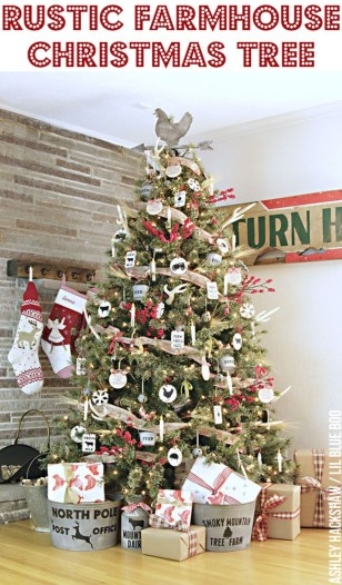 37 Totally Beautiful Vintage Christmas Tree Decoration Ideas 29