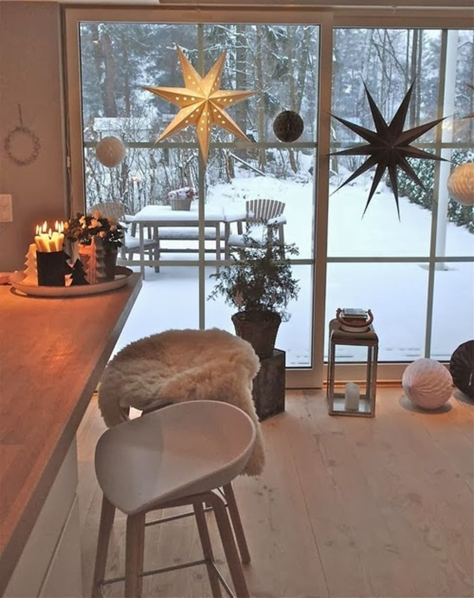 40 Awesome Scandinavian Christmas Decoration Ideas 33