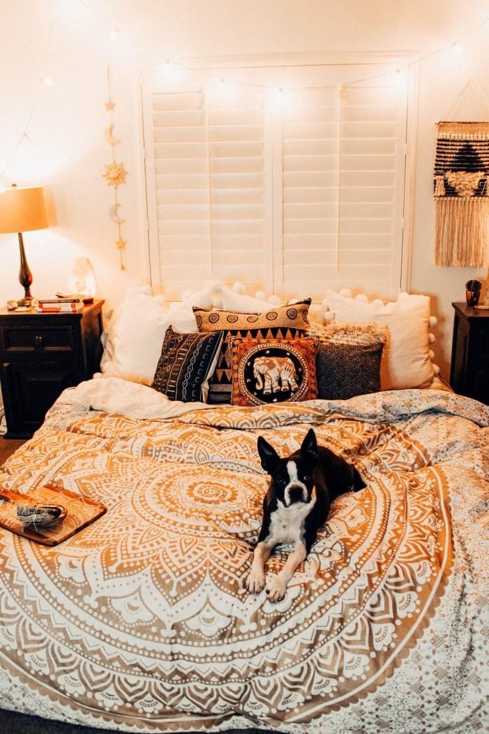 40 Unique Bohemian Bedroom Decoration Ideas 27