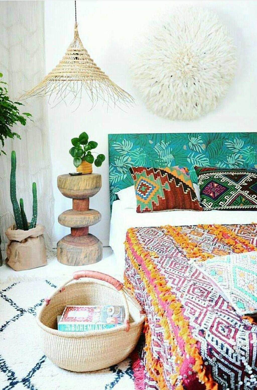 40 Unique Bohemian Bedroom Decoration Ideas 34