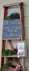 Beautiful Rustic Outdoor Christmas Decoration Ideas 04