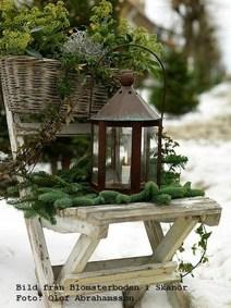 Beautiful Rustic Outdoor Christmas Decoration Ideas 33