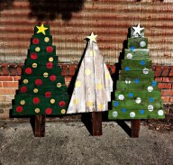 Beautiful Rustic Outdoor Christmas Decoration Ideas 38