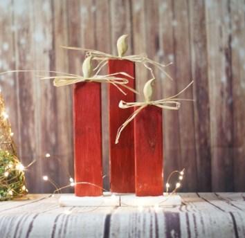 Beautiful Rustic Outdoor Christmas Decoration Ideas 45