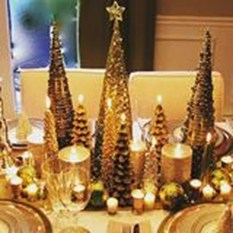 Cheap And Easy Christmas Centerpieces Ideas 46