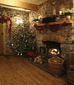 Cozy Christmas House Decoration 19