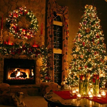 Cozy Christmas House Decoration 26