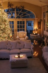 Cozy Christmas House Decoration 28