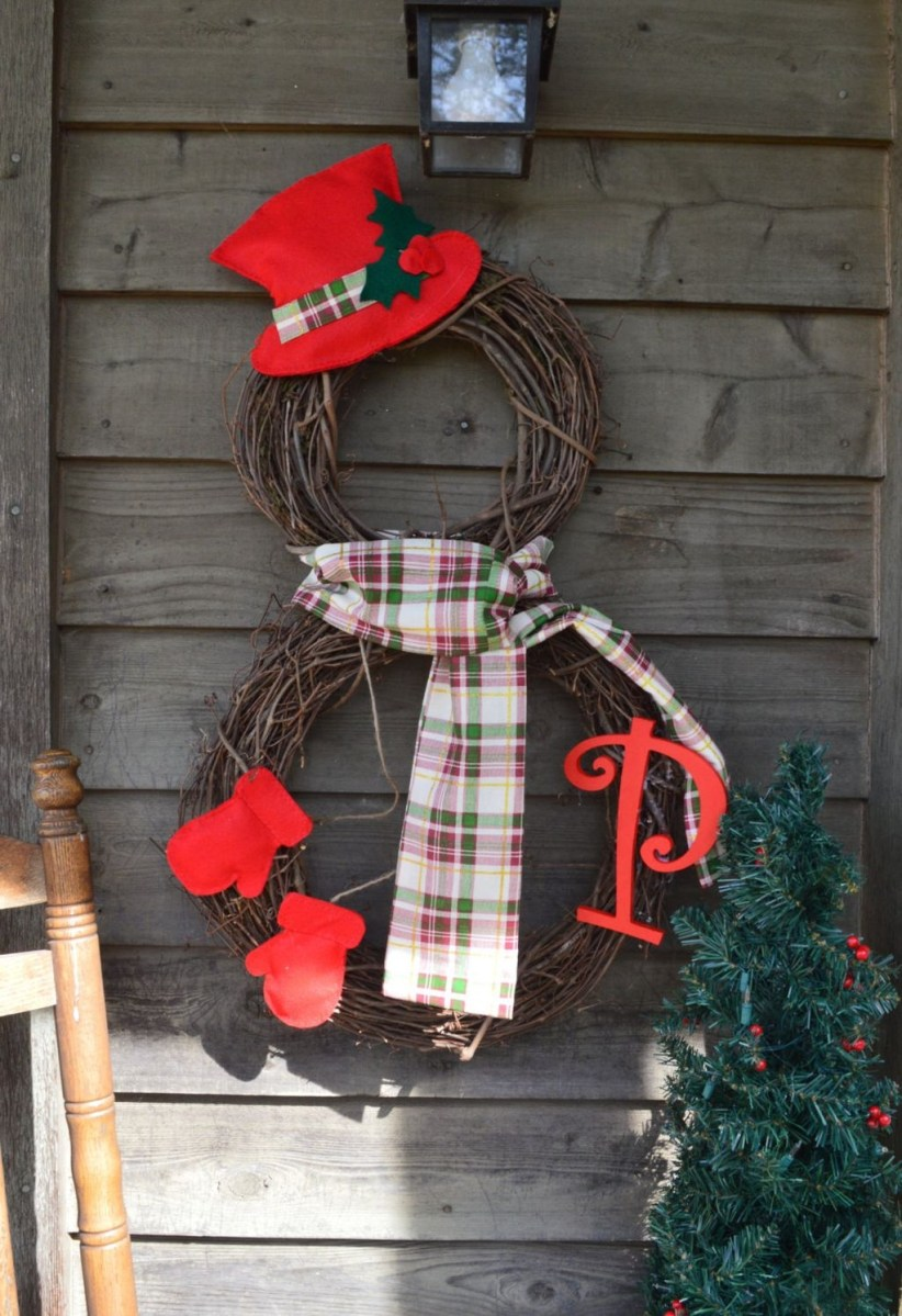 Cute And Cool Snowman Christmas Decoration Ideas 08