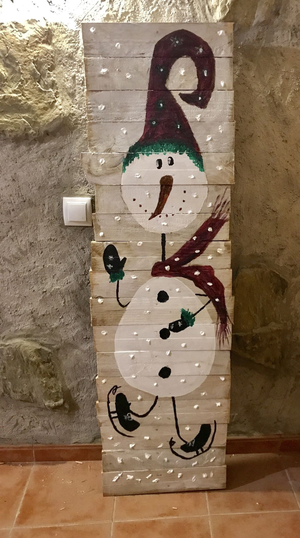 Cute And Cool Snowman Christmas Decoration Ideas 13