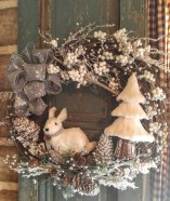 Elegant Rustic Christmas Wreaths Decoration Ideas To Celebrate Your Holiday 08