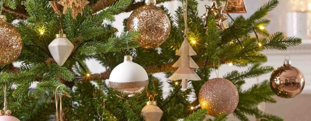 44 gorgeous pink and gold christmas decoration ideas - Pink Christmas Decorations Ideas