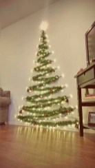 Inspiring Christmas Decoration Ideas For Your Apartment 34