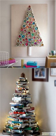 Inspiring Home Decoration Ideas With Small Christmas Tree 25