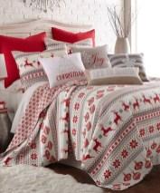 Simple Christmas Bedroom Decoration Ideas 22