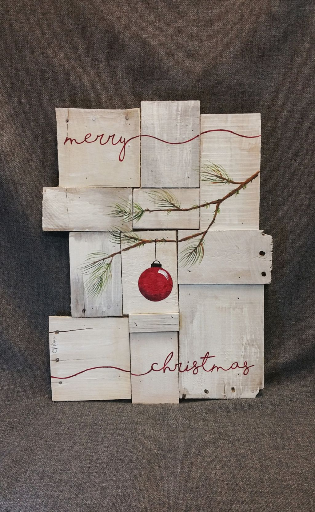 Totally Inspiring Farmhouse Christmas Decoration Ideas To Makes Your Home Stands Out 22