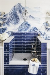 36 Cool Blue Bathroom Design Ideas 08