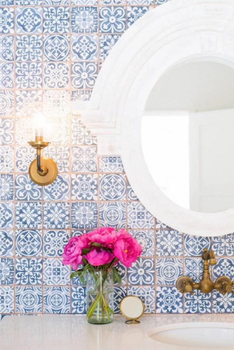 36 Cool Blue Bathroom Design Ideas 22