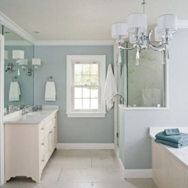 36 Cool Blue Bathroom Design Ideas 23