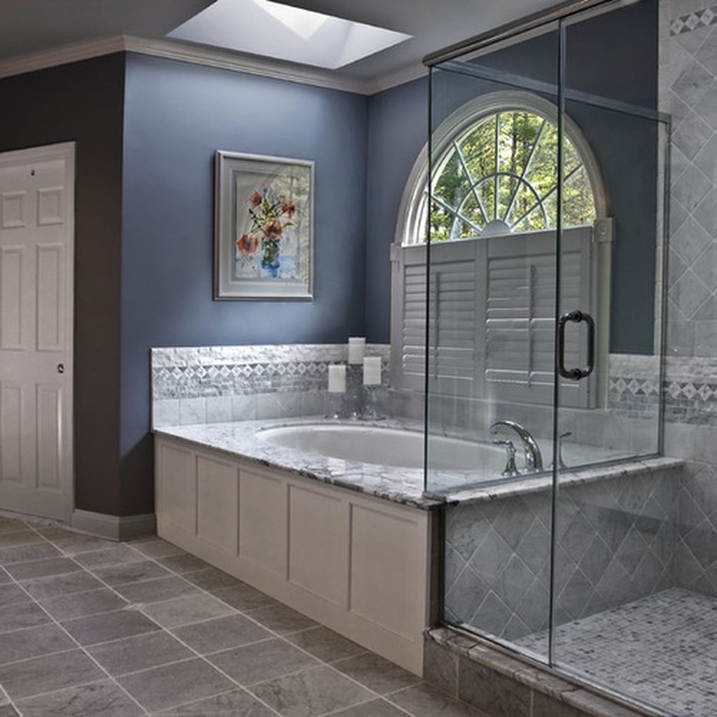 36 Cool Blue Bathroom Design Ideas 24