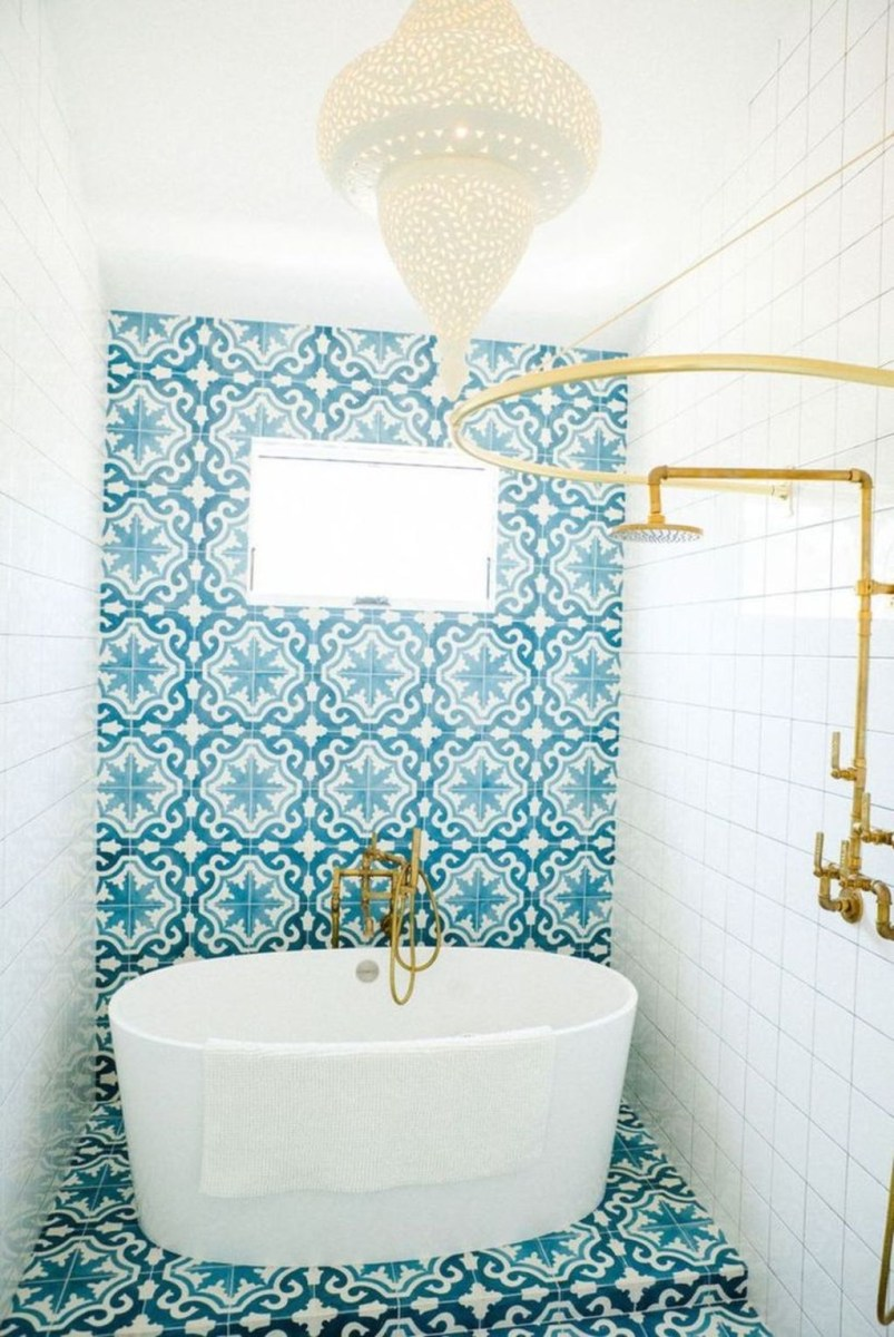 36 Cool Blue Bathroom Design Ideas 29