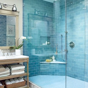 36 Cool Blue Bathroom Design Ideas 32