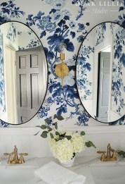 36 Cool Blue Bathroom Design Ideas 33