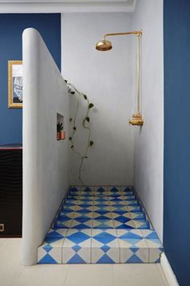 36 Cool Blue Bathroom Design Ideas 35