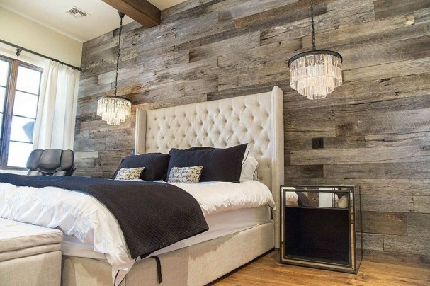 37 Cozy Rustic Bedroom Design Ideas 28