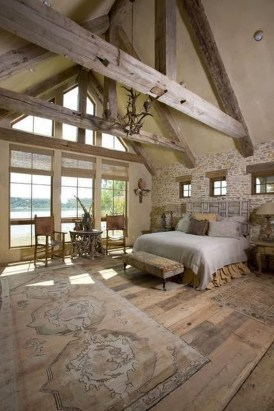 37 Cozy Rustic Bedroom Design Ideas 34