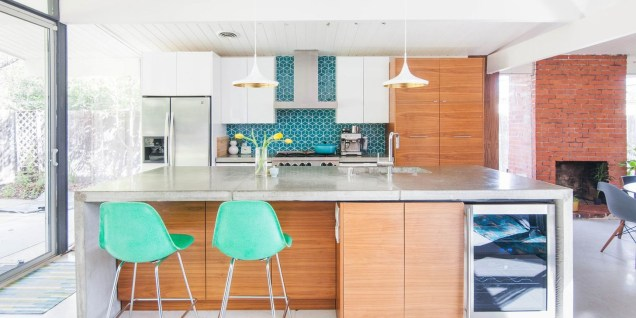 37 Stylish Mid Century Modern Kitchen Design Ideas 03