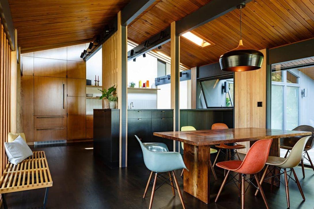 37 Stylish Mid Century Modern Kitchen Design Ideas 06