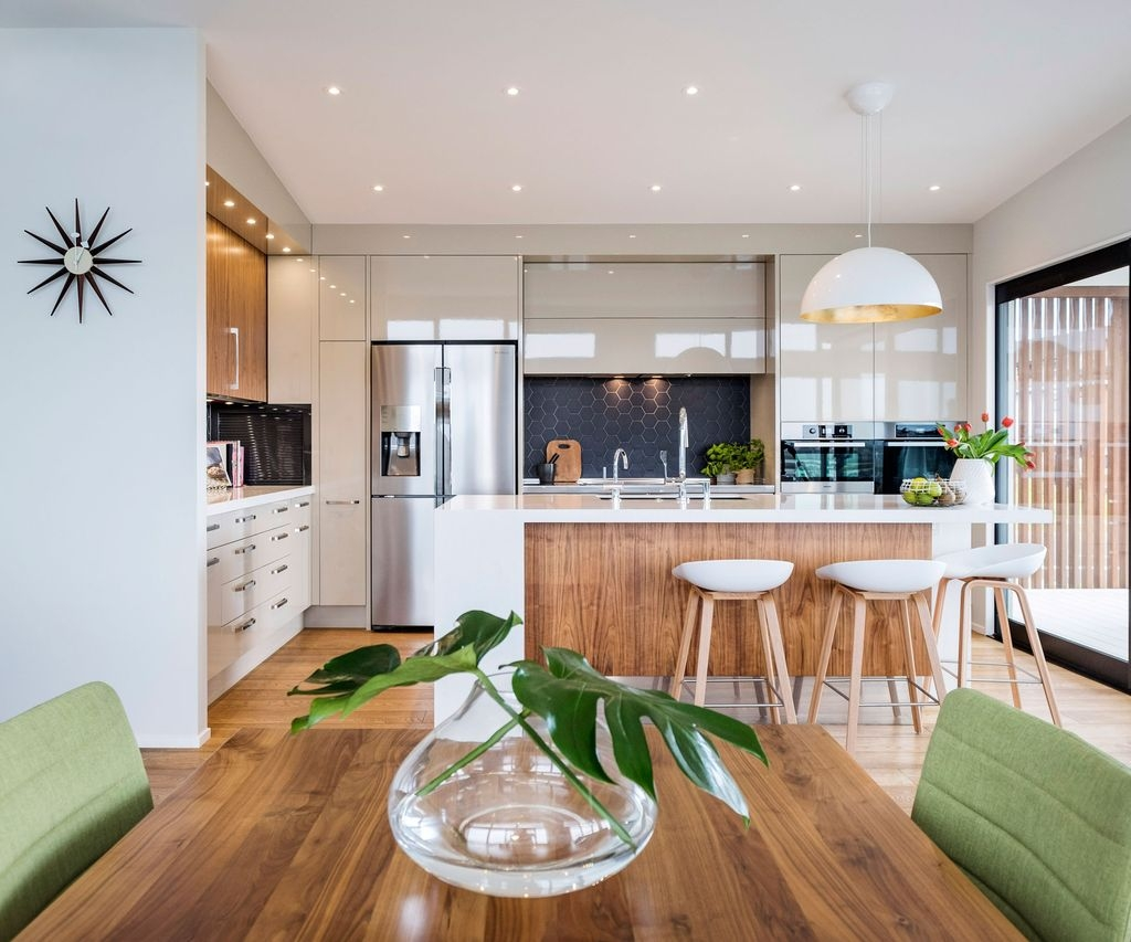 37 Stylish Mid Century Modern Kitchen Design Ideas 12