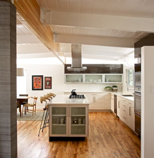 37 Stylish Mid Century Modern Kitchen Design Ideas 19