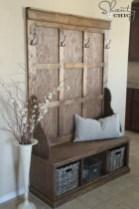 38 Brilliant Hallway Storage Decoration Ideas12
