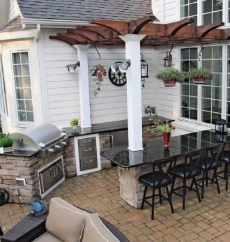 38 Cool Outdoor Kitchen Design Ideas 01