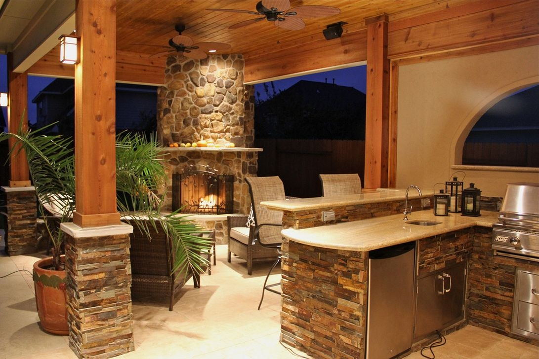 38 Cool Outdoor Kitchen Design Ideas 03