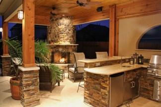 38 Cool Outdoor Kitchen Design Ideas 03