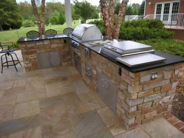 38 Cool Outdoor Kitchen Design Ideas 08
